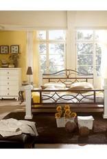 Massiv Holz Bett  140 180 200 cm Doppelbett weiß