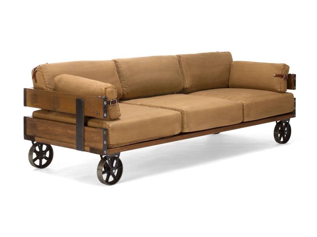 sofa im industrie design auf r dern massivholzm bel bei. Black Bedroom Furniture Sets. Home Design Ideas
