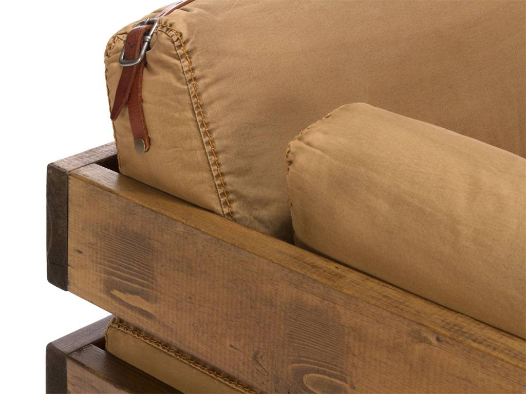 Sofa Im Industrie Design Auf Radern Massivholzmobel Bei