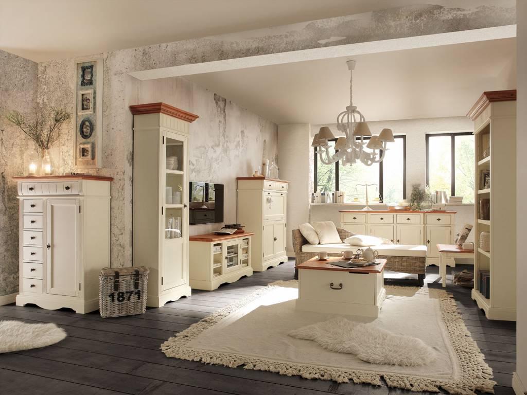 retro Küchen Buffet - Massivholzmöbel bei moebelshop68.de
