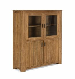 Massiv Holz Kommode Highboard