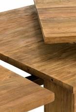 Ess Tisch massiv Holz Teak