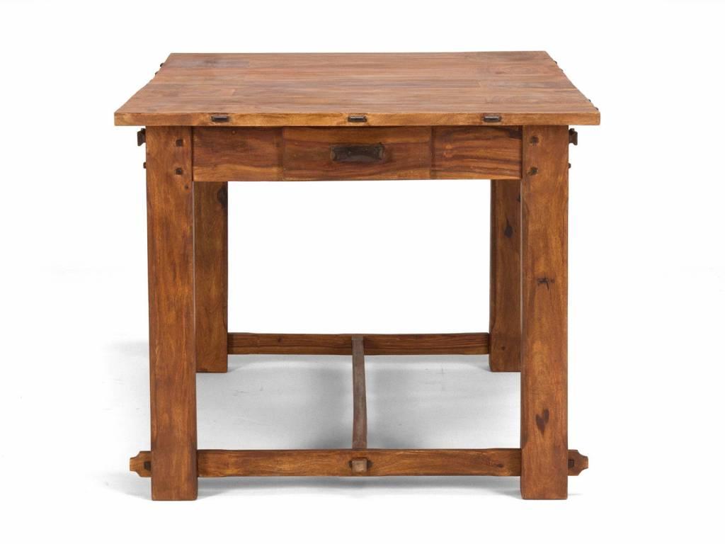 Küchentisch großer Esstisch im Bauern Look - Massivholzmöbel bei ...
