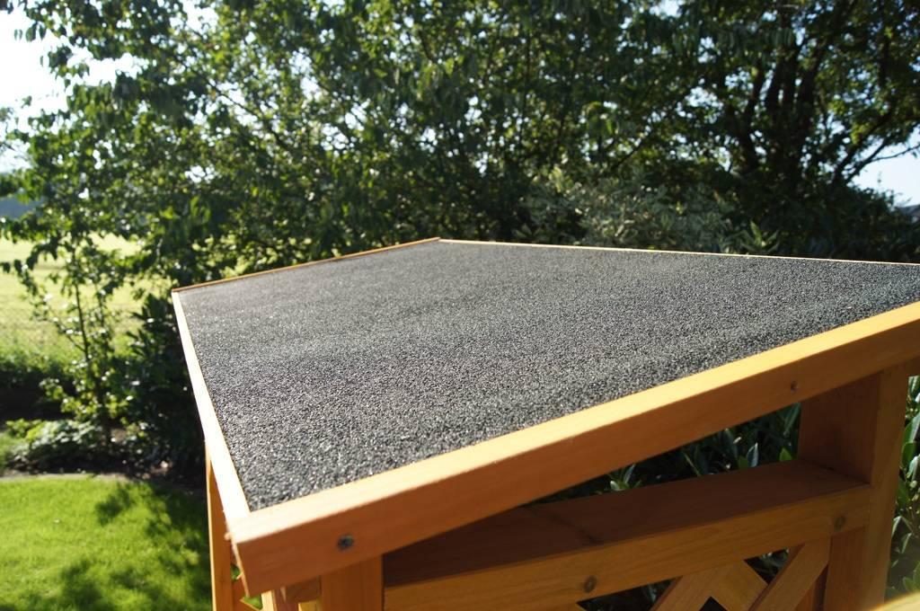 Kaminholzregal Holz Unterstand