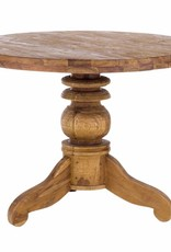 Teakholz tisch massiv  massiv Teak Tisch rund 100 cm oder 150 cm - Massivholzmöbel bei ...