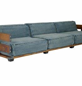 3 Sitzer Sofa im Industrial Design