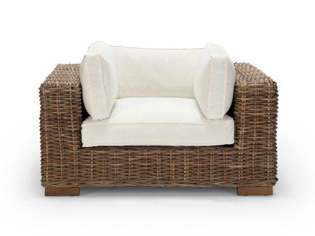 ... Rattan Sofa Liege Lounge ...