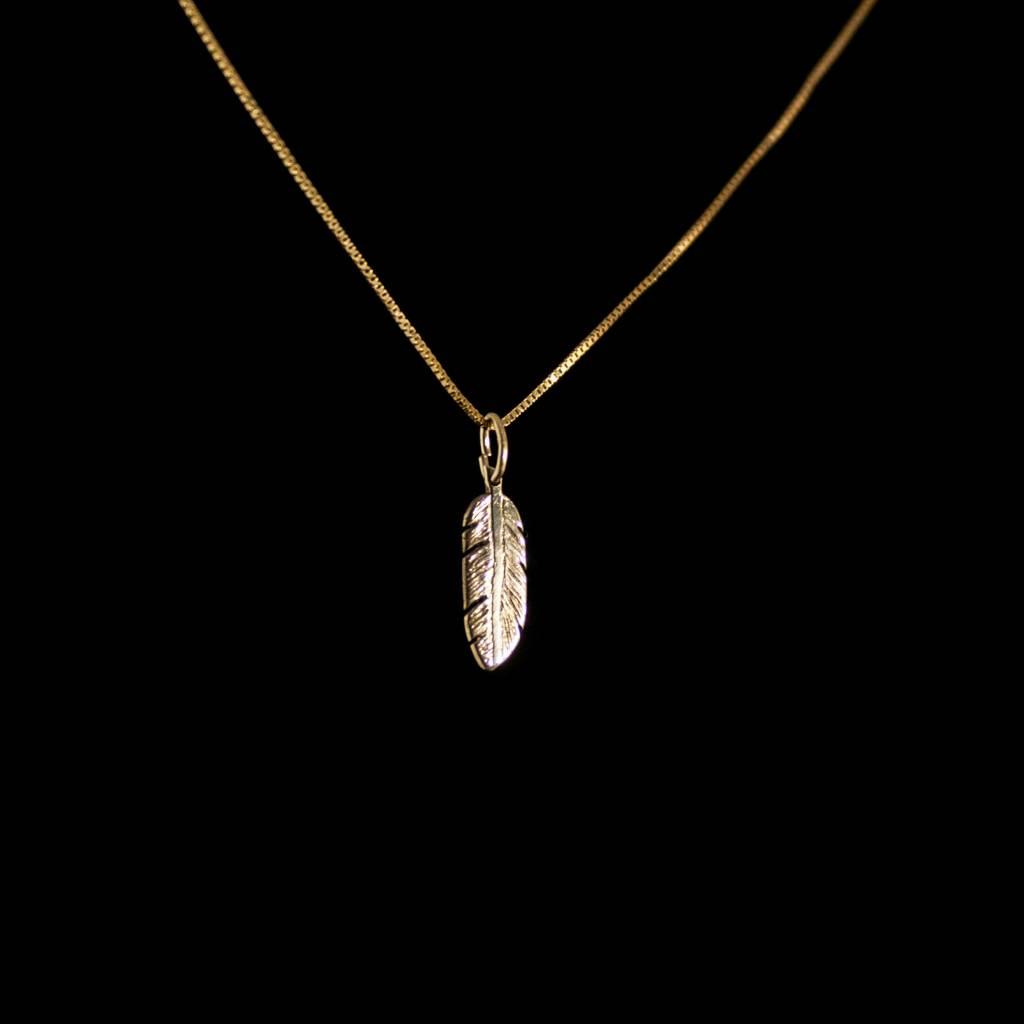 MARGRIET JEWELS Gouden hanger VEER