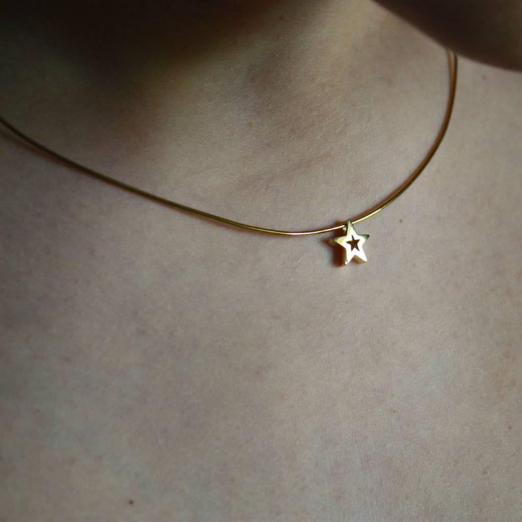 MARGRIET JEWELS Gouden hanger STER