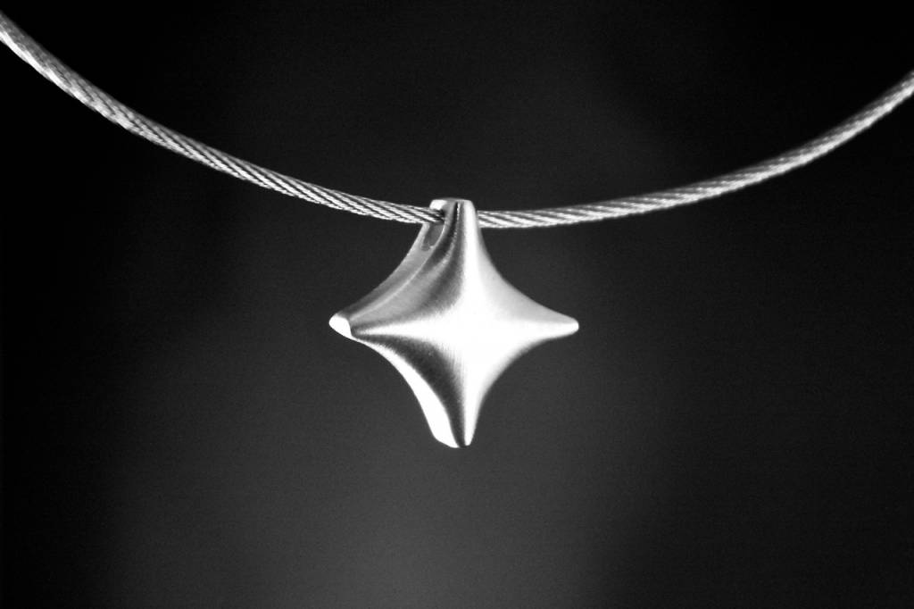 MARGRIET JEWELS Zilveren ashanger TWINKEL - Basic