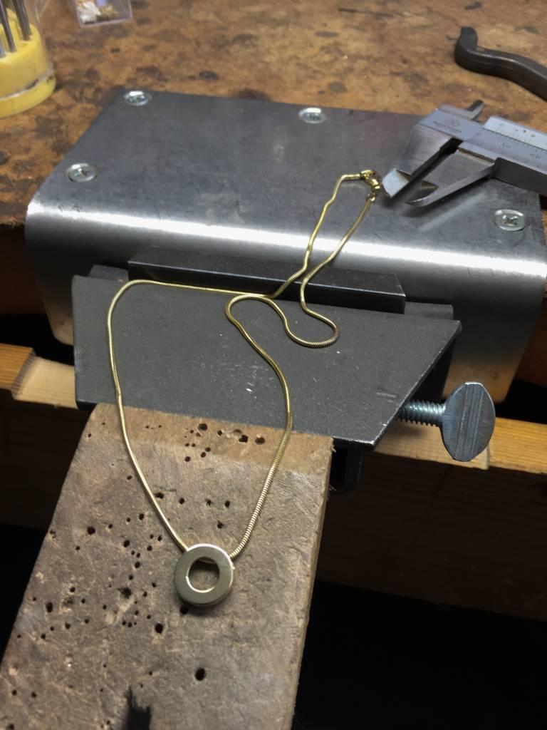 MARGRIET JEWELS Zilveren hanger KRACHT