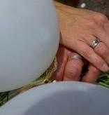 MARGRIET JEWELS Zilveren trouwring PUURTROUW