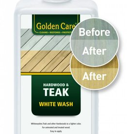 Golden Care Teak Whitewash protector