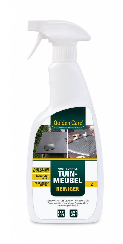 Golden Care Multi surface tuinmeubel reiniger 2 voor oa natuursteen en kunststof