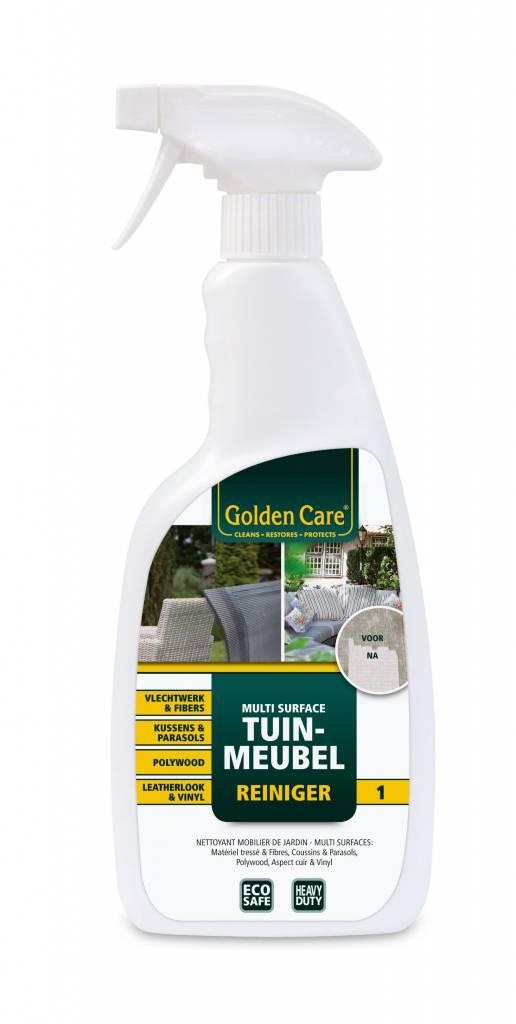 Golden Care Multi surface Tuinmeubel reiniger voor vlechtwerk, tuinkussens en polywood
