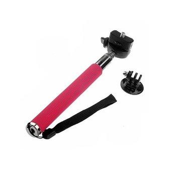 SJCAM Monopod met adapter, roze rood