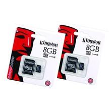 Duopack Kingston MicroSD8Gb