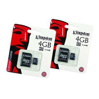 Duopack Kingston MicroSD4Gb
