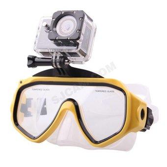 SJCAM Duikmasker voor SJ4000, SJ5000 en M10 camera's
