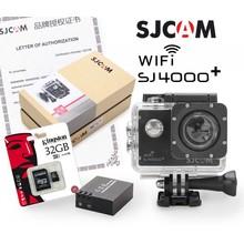 SJCAM SJ4000+ Zwart, bundel met extra accu en 32Gb Kingston MicroSD kaart