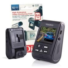 Viofo dashcam A119s, incl. GPS, 64Gb Sandisk High Endurance card en Nederlandse handleiding