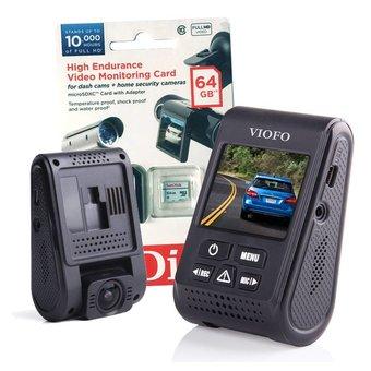Viofo dashcam A119S (V2), incl. GPS, 64Gb Sandisk High Endurance card en Nederlandse handleiding
