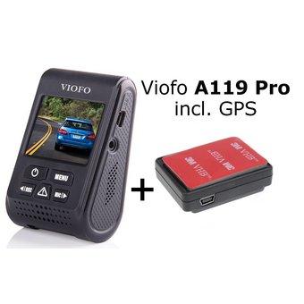 Viofo dashcam A119 Pro, incl. GPS