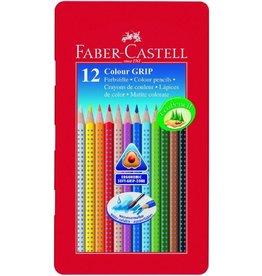 Faber Castell Farbstifte Colour Grip 2001 12er Blechetui