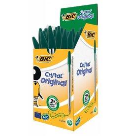 BiC Kugelschreiber Cristal grün