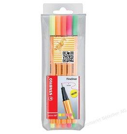Stabilo Fineliner point 88 Neon-Farben