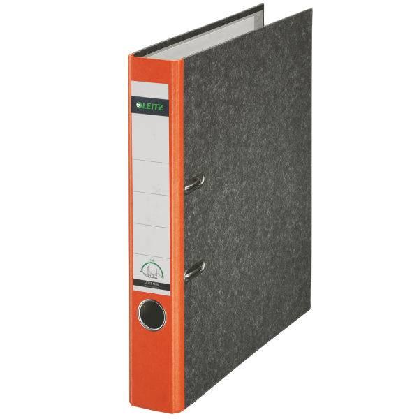 Leitz Qualitäts-Ordner 180° Wolkenmarmor A4, 52 mm, orange