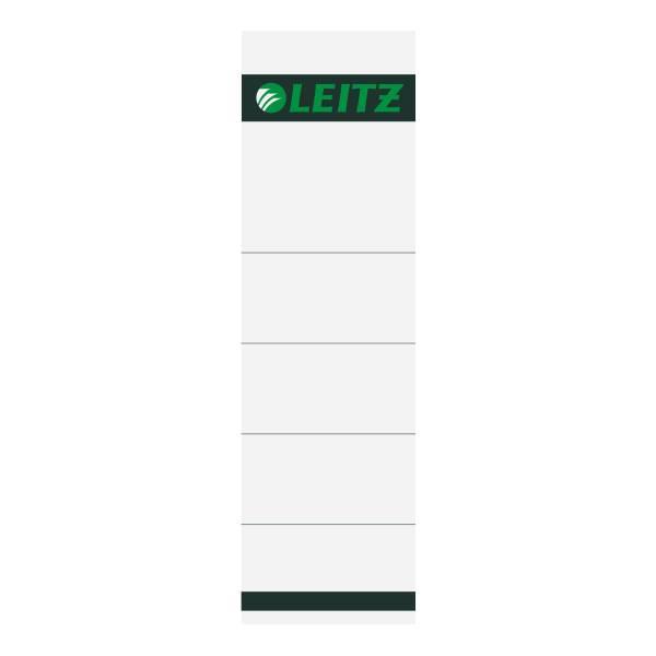 Leitz Ordner-Rückenschilder breit/kurz, einsteckbar, DIN A4