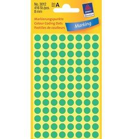 Avery Zweckform Markierungspunkte 8mm, grün