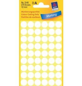 Avery Zweckform Markierungspunkte 12mm, weiß