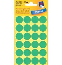 Avery Zweckform Markierungspunkte 18mm, grün