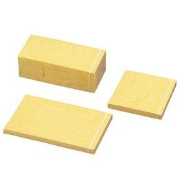 Haftnotizen gelb, 12x 100 Blatt