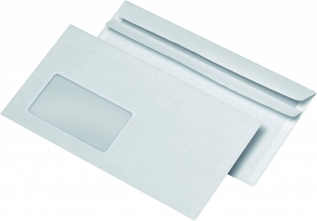 Briefumschläge 1000 St./Pack. mit Fenster 220 x 110 mm