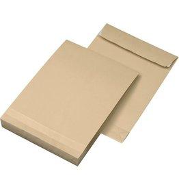 Faltentaschen DIN C4, Farbe: braun 250 St./Pack. 130 g/m²