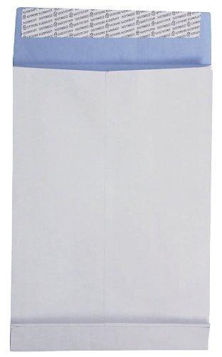 Faltentaschen DIN B4 fadenverstärkt ohne Fenster, Farbe: weiß 250 St./Pack. 130 g/m² Stehboden