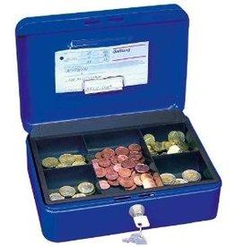 Wedo Geldkassette blau 20 x 9 x 16 cm (B x H x T)