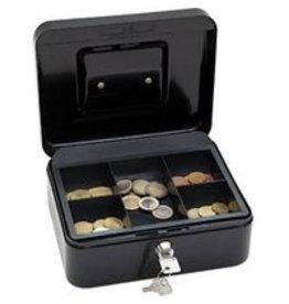 Wedo Geldkassette schwarz 20 x 9 x 16 cm (B x H x T)