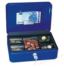 Wedo Geldkassette blau 25 x 9 x 18 cm (B x H x T)
