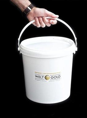 Welt-Gold GoudZAND PAYDIRT 8,5 Kilo (met 2,0 gram goud)