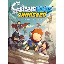 Warner Brothers Scribblenauts Unmasked - A DC Comics Adventure