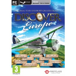 Excalibur Discover Europe - FS X + FS 2004 Add-On - Steam Edition