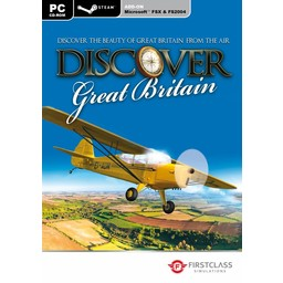 Excalibur Discover Great Britain - FS X + 2004 Add-On - Steam Edition