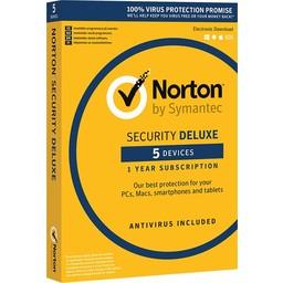 Symantec Norton Security Deluxe 3.0 - Nederlands / Frans / 5 Apparaten / 1 Jaar / Windows / Mac / iOS / Android