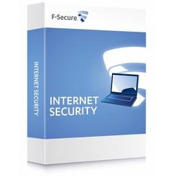 F-Secure F-Secure Internet Security - Nederlands / Engels / Frans / 3 Gebruikers / 2 Jaar