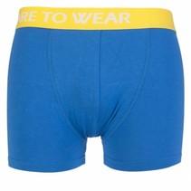 Boxershort blauw