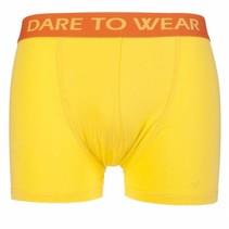 Boxershort geel